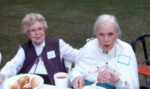 Alma DeFelice and Myrtle Davis
