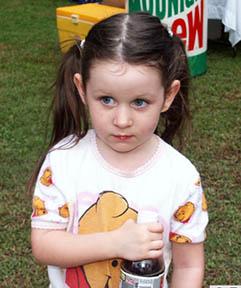 Elizabeth Fogner age 3