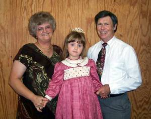 Sarah and Norah Miller, with their granddaughter, Brylaine Zimmerman