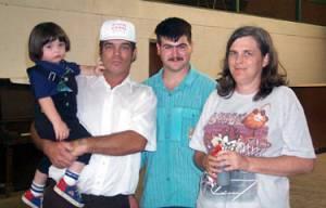 Sammy Orence, John Culp, Cleveland Jackson Coatnie and Irene Gregory Culp