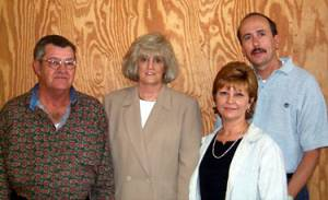 James Fleetwood Gregory and Cindy Gregory with Denise and Ken Davidson