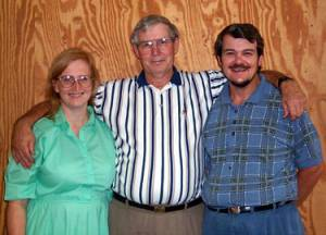 Lynn, Curtis and Dennis Gregory