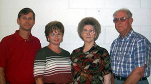 Tommy, Patty, Mary and Cecil Gregory