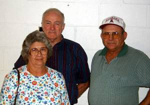 Betty, Carrol and Johnny Gregory Payne