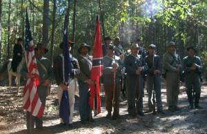 Honoring two Gregory Confederate soldiers