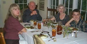Ann Gregory-Polansky, Reginald Gregory, Elaine Gregory;,Max Gregory-Polansky