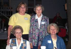 Helen and Anna Brewington with Linda Brewington Morse and Anna M. Lancaster