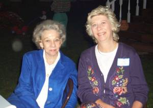 Estelle Meador Furman and Vicky Sparks Burdett