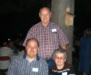 Oscar, Eleanor Hunnicutt and Randall Frye