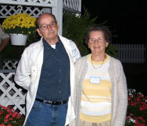 John Gregory with his sister, Anita Gregory Sanders