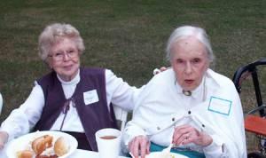 Alma DeFelice and Myrtle Davis