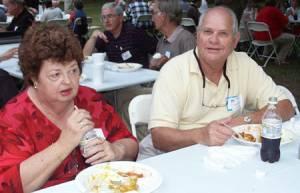 Melanie and Doug Edwards, Wallace Gregory, Neil Gregory