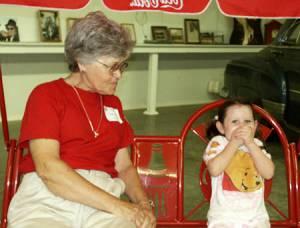 Grandmother Naoma Lowe and Elizabeth Fogner