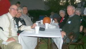 Earl and Martha Bryan, Maurice Gregory, Ruby Lee Stevens, Chris and Linda Crissinger