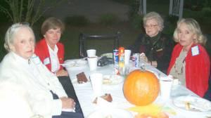 Myrtle Gregory, Dianne Gregory, Alma de Felice, Charlotte Pitts