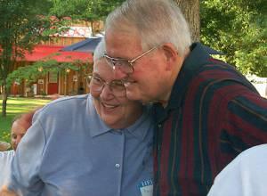 Margaret Peake and Gene Gregory