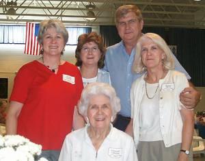 Eleanor Gibson, Standing Kathy Smiley Kelly Brown, Joe Mike Michalowski, Keary Wells