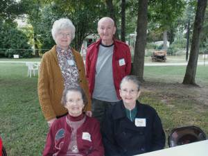 Kathleen and Gene Gregory; Anita G. Sanders, and Mary Jo Gregory