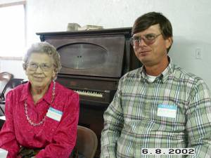 Bessie Mae Holliday and Ricky Trotter