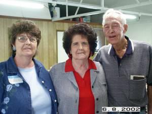 Janice (Wiesen) Panning, Mary Wiesen, and Bob Wiesen