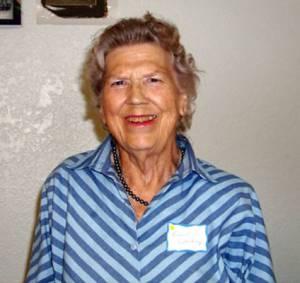 Bessie Holliday, widow of W.D. (Bill) Holliday